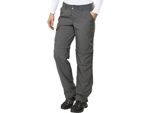 Columbia Silver Ridge - Pantalones de Trekking Mujer - regular gris ... de5c5df7fdd